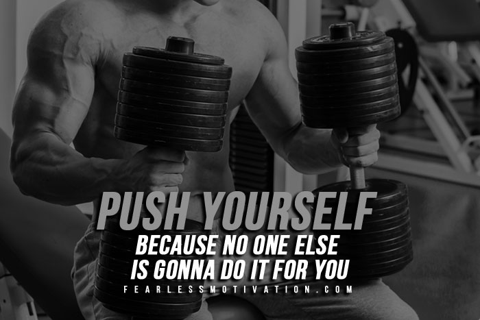 Everyday Workout - Push yourself, do it in your own way