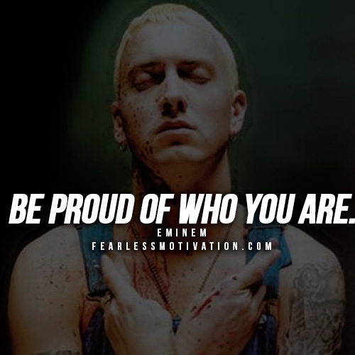 Quotes Eminem Amazing 18 Of The Best Eminem Quotes On Success  Fearless Motivation
