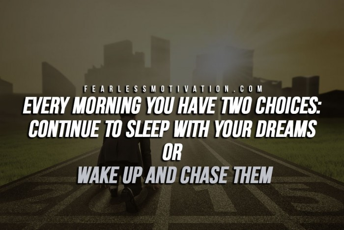 things successful people do every day - they wake up early