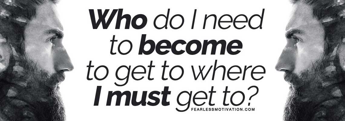 Who do I need to become Motivational Speech