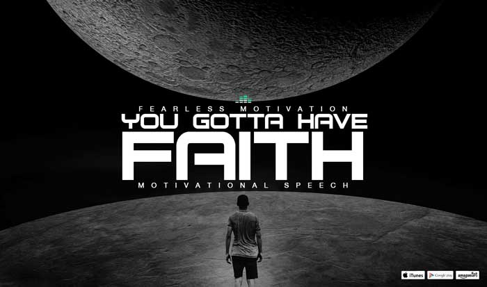 faith motivational speech