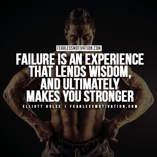 Elliott Hulse Quotes - Failure
