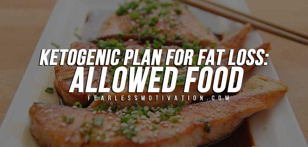 Piano chetogenico per la perdita di grasso: cibo consentito