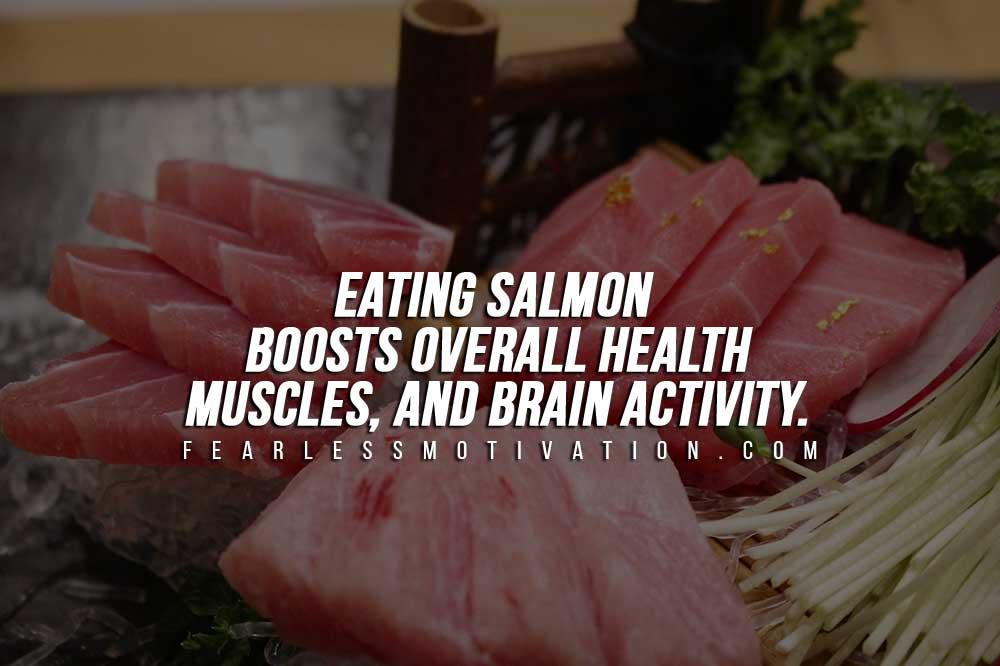 Alimenti per la costruzione del muscolo - Salmone