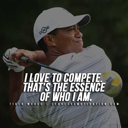 Tiger Woods Quotes 10 Inspirational Tiger Woods Quotes & Videos   Fearless Motivation  Tiger Woods Quotes