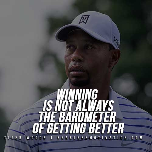 Tiger Woods Quotes - Winning