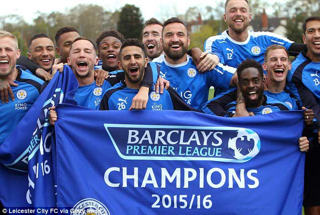 Biggest upsets in Sporting History - Leicester