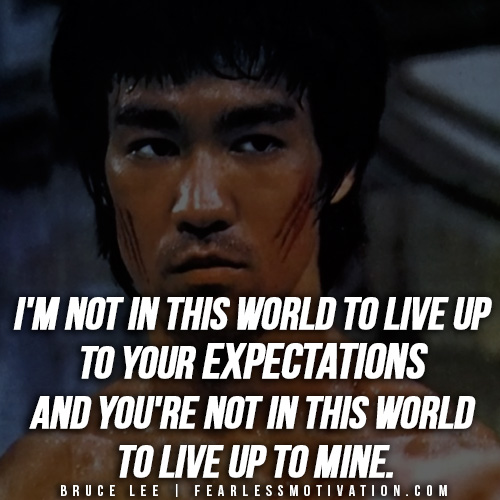 Inspirational Quotes About Positive: Bruce Lee Top 10 Rules For Success & Famous Quotes