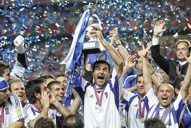 Biggest upsets in Sporting History - Greece 2004
