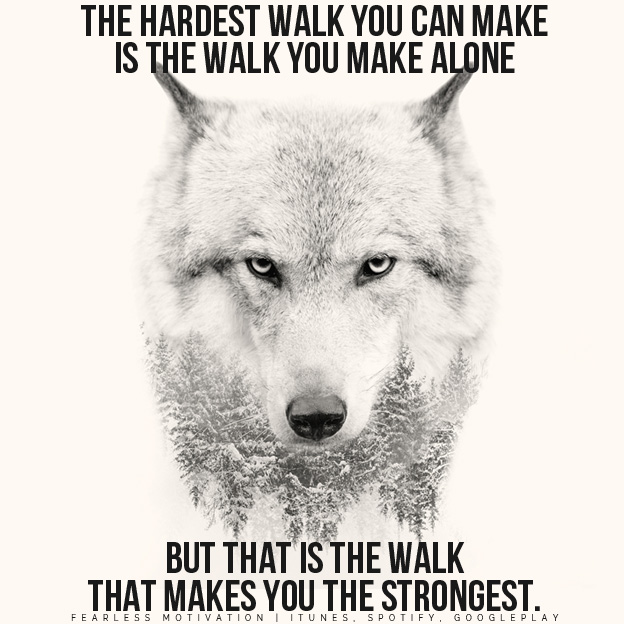 Lone Wolf Motivational Speech By Fearless Motivation