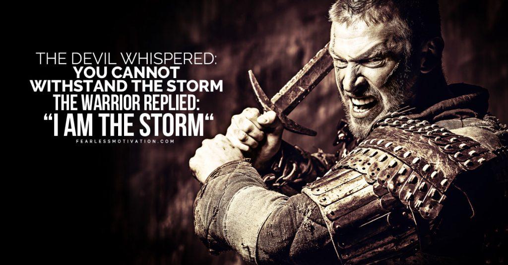 warrior motivational speech