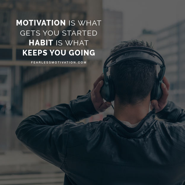 habits motivational speech