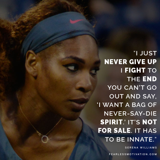 the greatest serena williams quotes