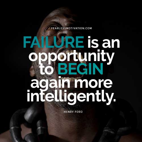 reasons you need to fail