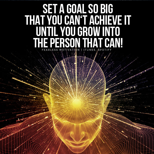 goals so big goals motivational video