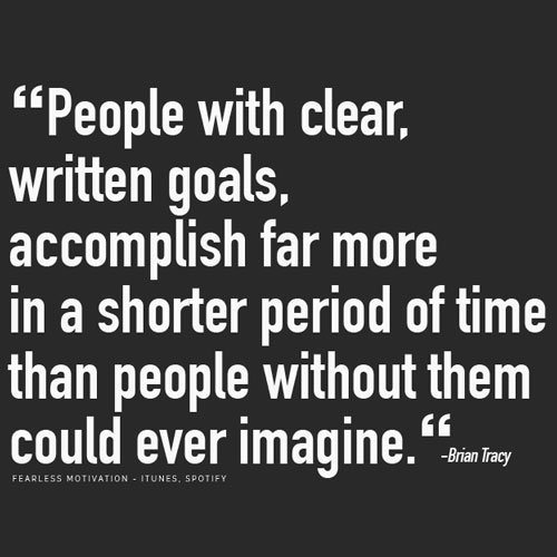 brian tracy goals