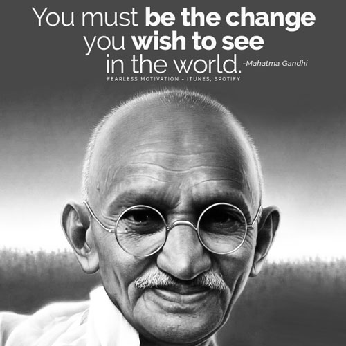 Gandhi Quotes On Peace Extraordinary 48 Famous Mahatma Gandhi Quotes On Peace Courage And Freedom