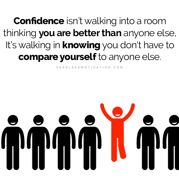 habits of confident people