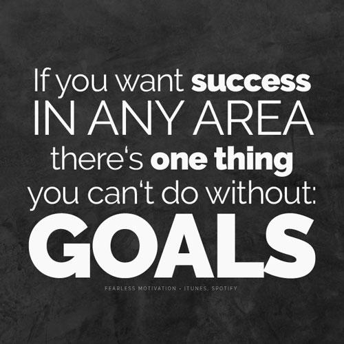 self-confidence goals