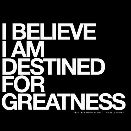 How to Achieve Greatness
