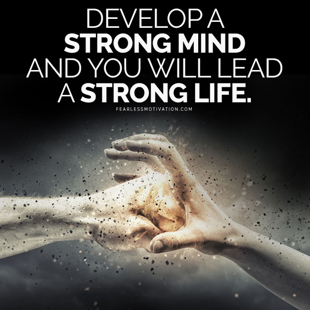 Strong Life Quote Enchanting Strong Mind Strong Life  Motivational Speeches On Itunes & Spotify