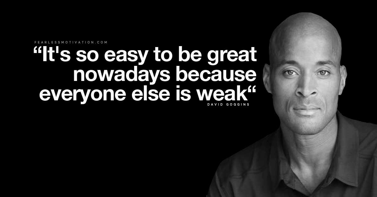 David Goggins Quotes And Life Lessons To Overcome Anything In Life
