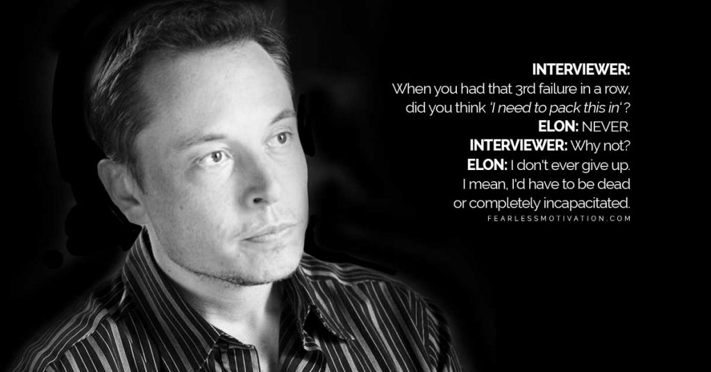 elon musk motivational speeches