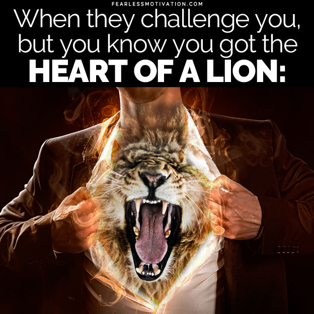 heart of a lion gym motivation song