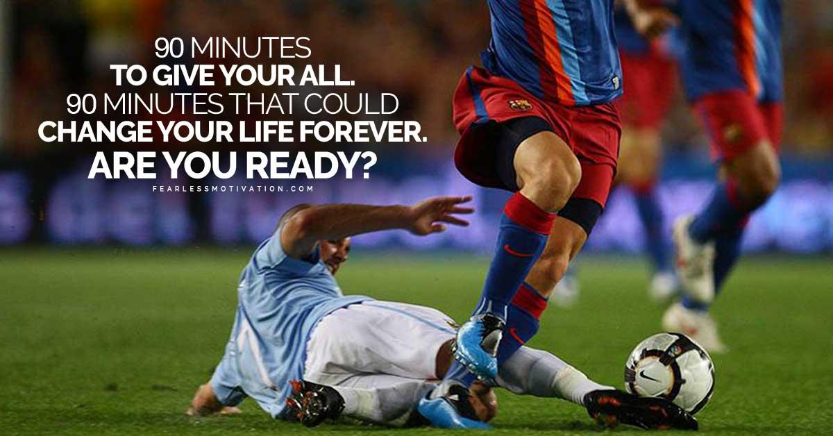 Lyric are you ready for some football lyrics : 90 Minutes - Football Motivational Speech (Soccer Motivation)