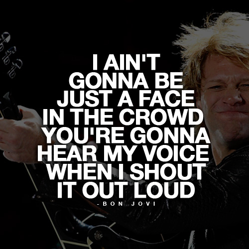 motivational songs bon jovi