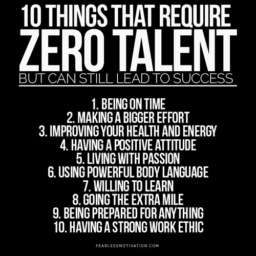 Revered image intended for 10 things that require zero talent printable