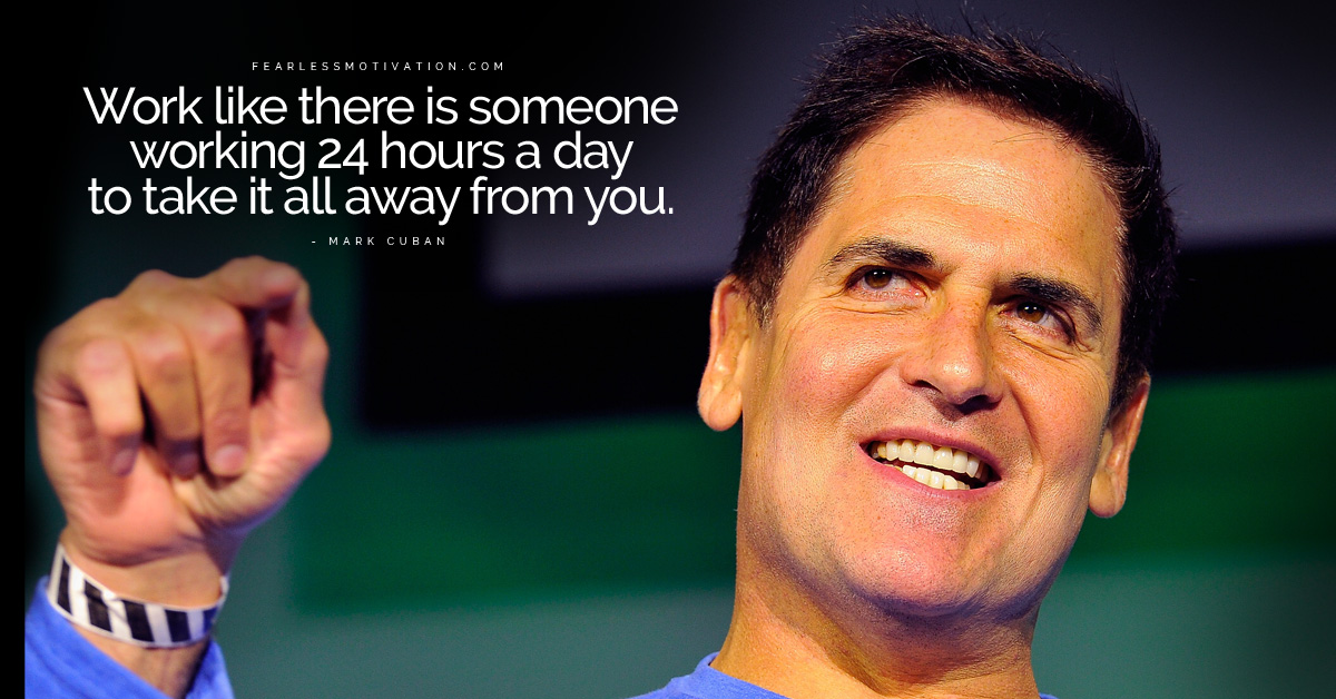inspirational mark cuban quotes  u0026 top 10 rules for success