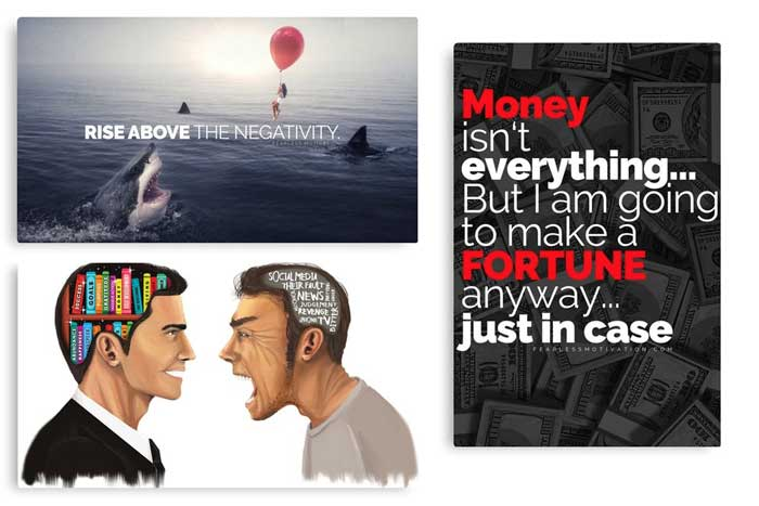 motivational posters gift idea
