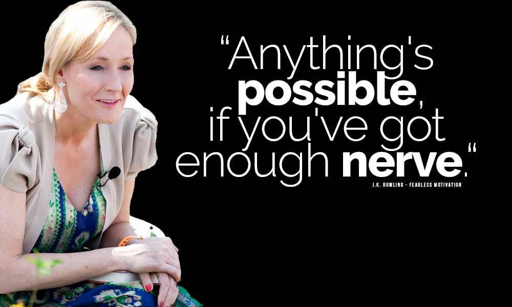 J.K. Rowling Motivation Inspiration Working Class Rich Successful