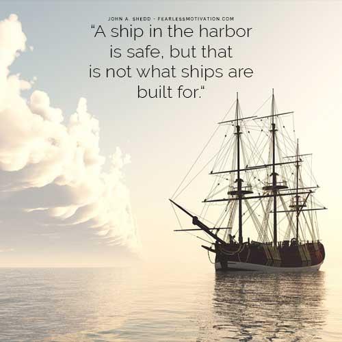 Ship Harbor Port Goals Safe Motivation
