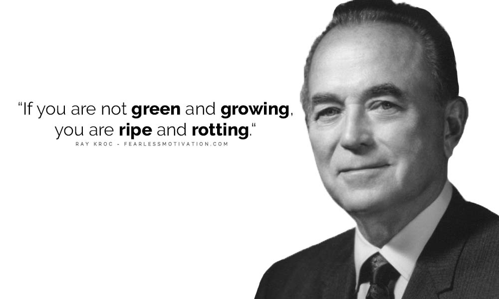 Ray Kroc Quote Daily Routine Of Every Successful Person