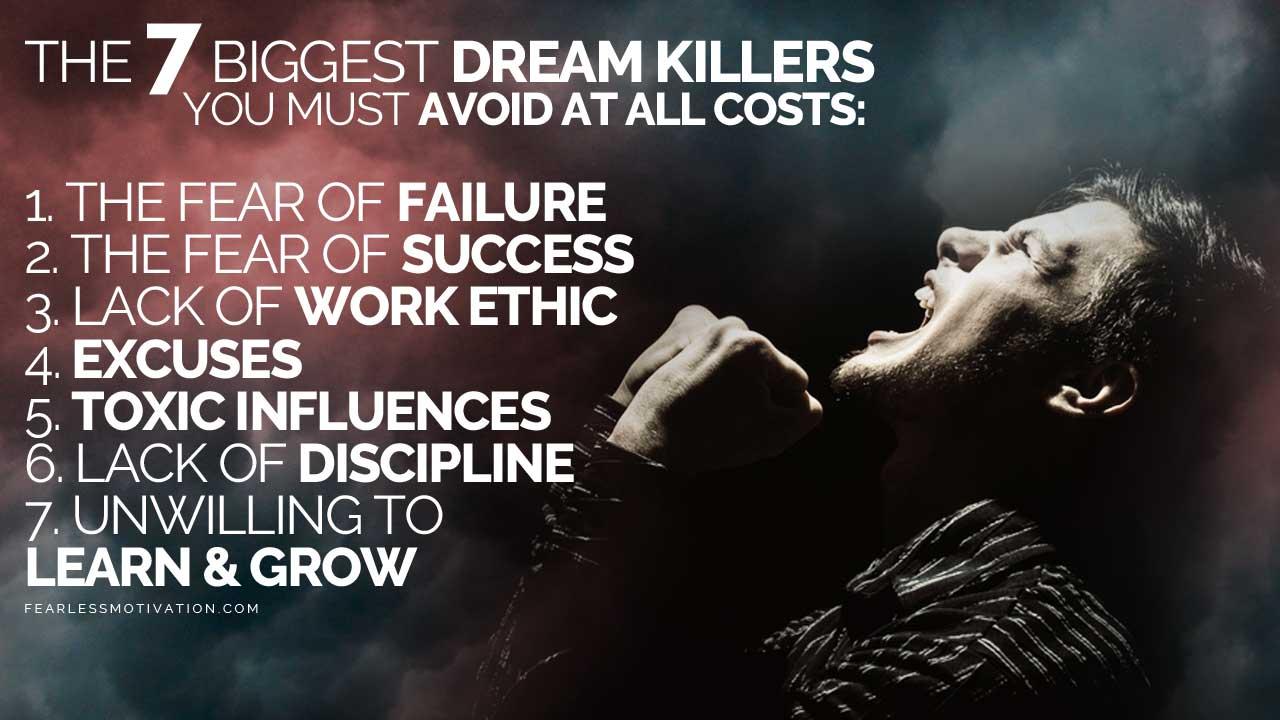 biggest dream killers