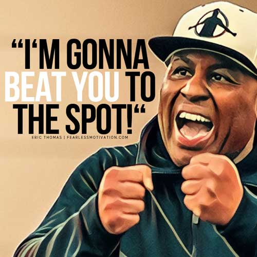 eric thomas rules for success