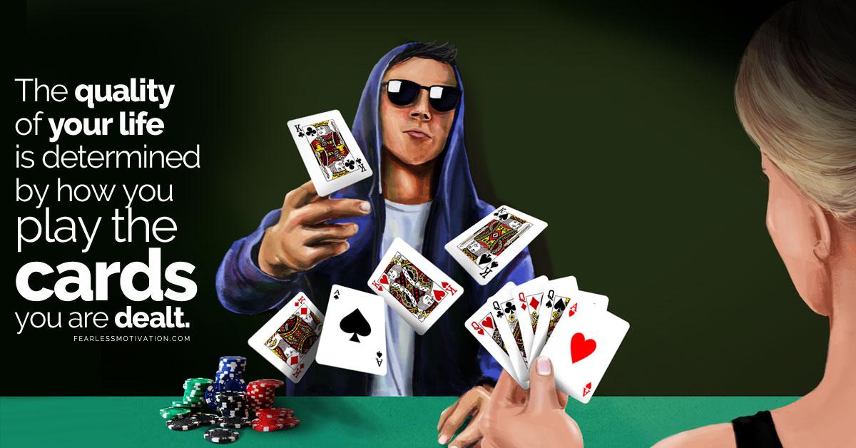 cards dealt