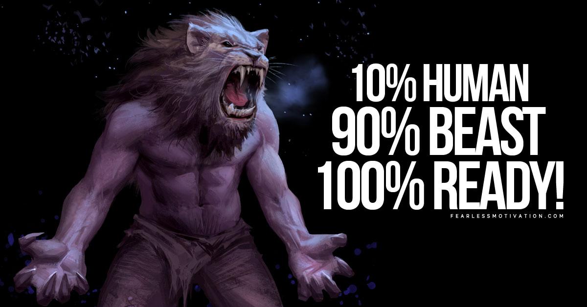 10 Human 90 Beast Gym Motivational Speeches Album