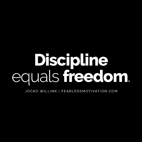 Intermittent Fasting Can Change Your Life - One of the 2 Best Life Hacks! Discipline equals freedom jock willing quote quotes