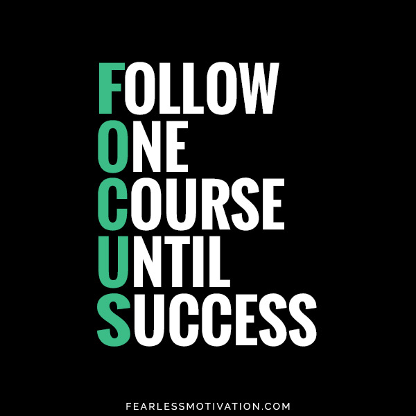 follow one course until success FOCUS quote Become A Business Beast: Warren Buffett's Simply Brilliant '2 List Rule' Will Change Everything 2 List Rule