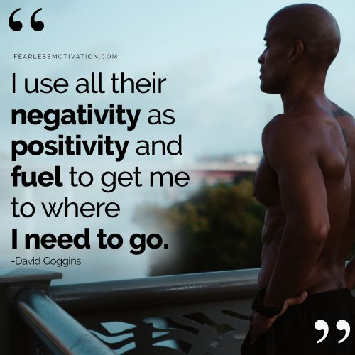 David Goggins motivation