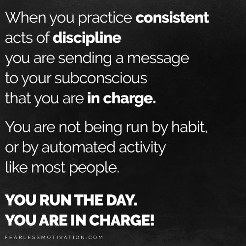 discipline speech quote