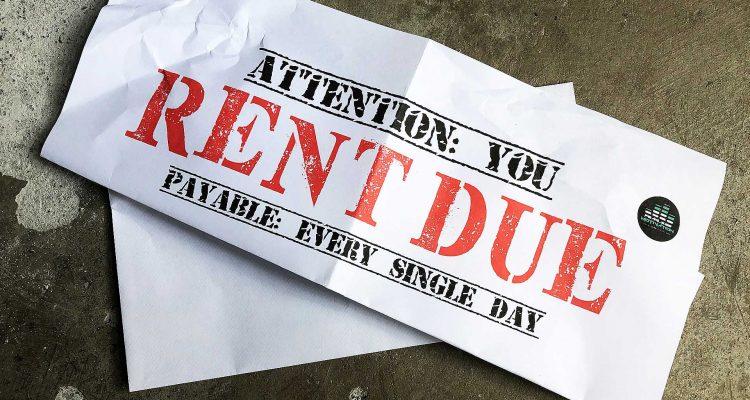 rent is due