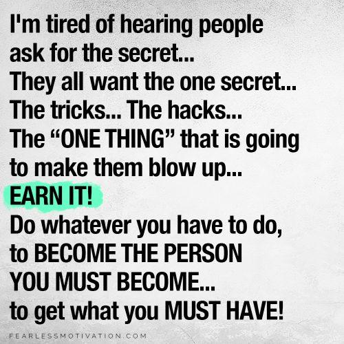 Il successo non è mai posseduto È affittato
