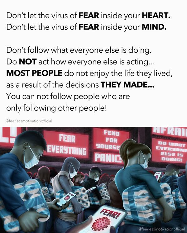 virus of fear