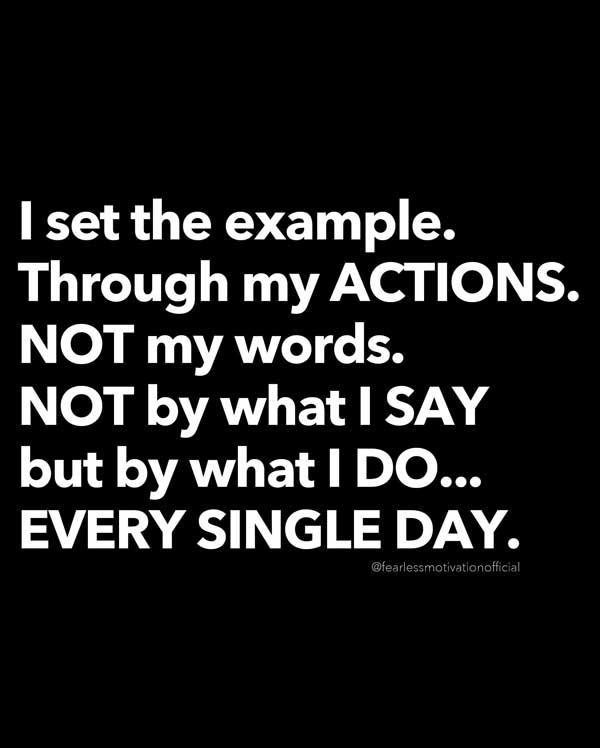 Io sono l'esempio