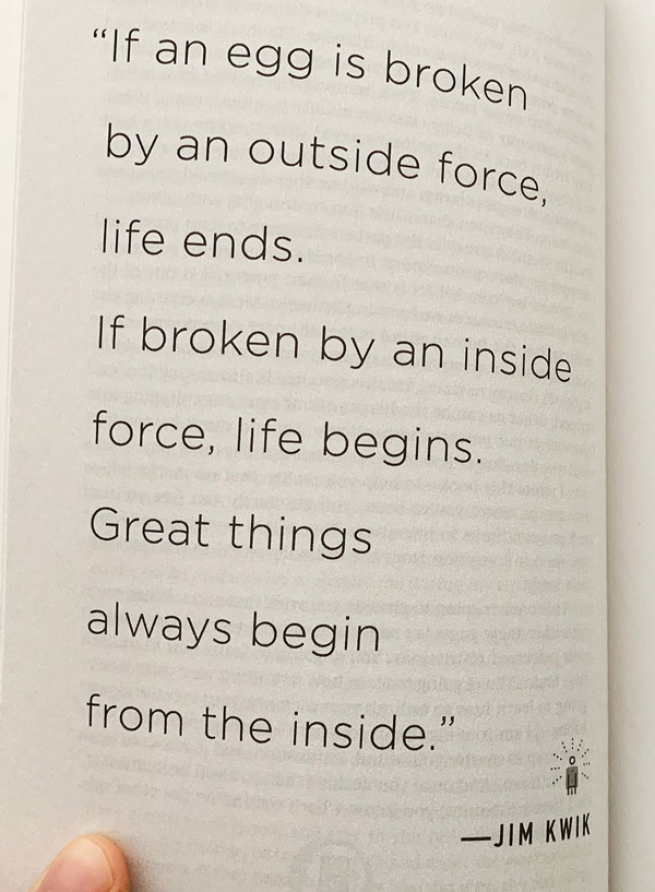jim kwik book quote