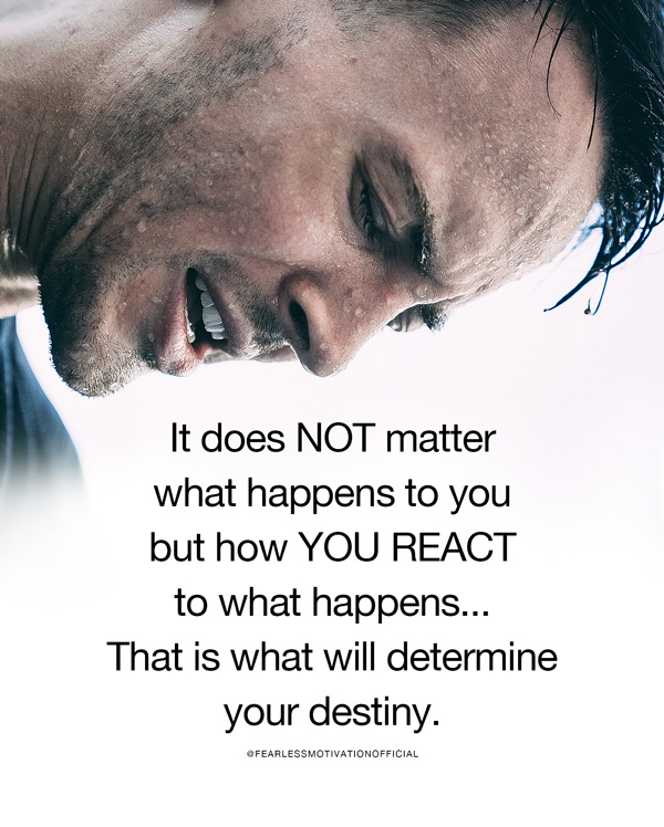 It Does Not Matter What Happens to You (Motivational Speech)